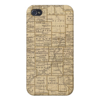 Indiana Atlas Map Covers For iPhone 4