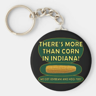 Indiana Corn Key Ring