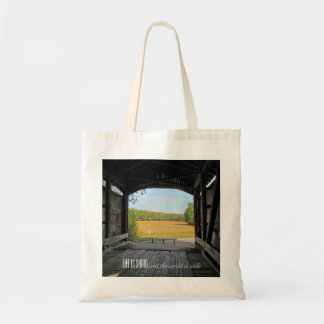 Indiana Covered Bridge Tote Bag