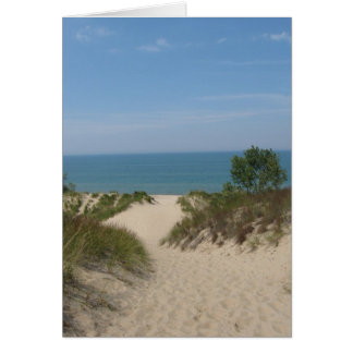 Indiana Dunes Note Card