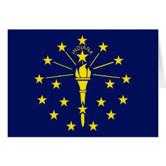 Indiana Flag Card