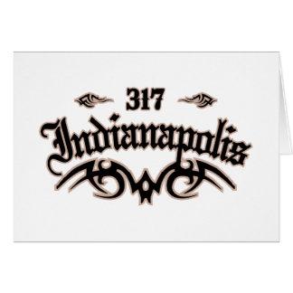 Indianapolis 317 card