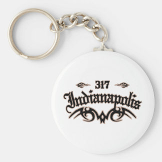 Indianapolis 317 key ring