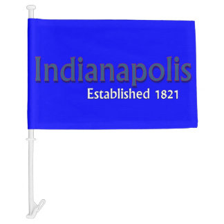 Indianapolis Car Flag