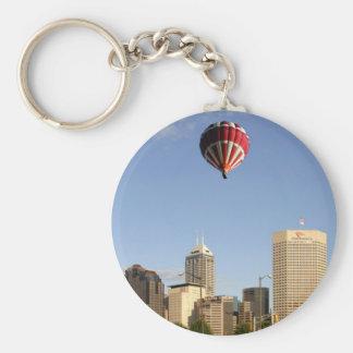 Indianapolis City Skyline Key Ring