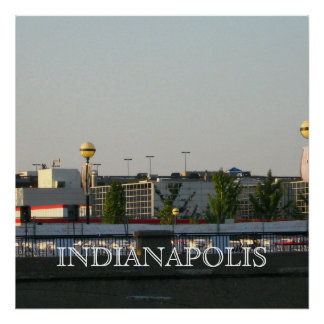 INDIANAPOLIS FESTIVE POSTER