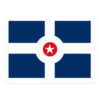 Indianapolis Flag Postcard