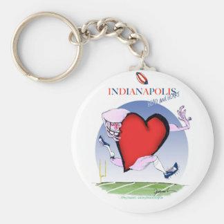 indianapolis head heart, tony fernandes key ring