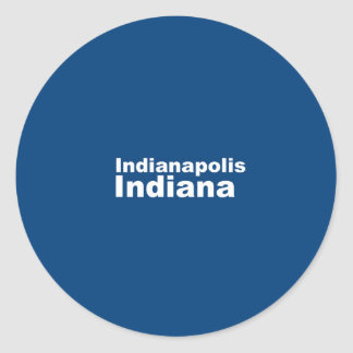 Indianapolis, Indiana Sticker