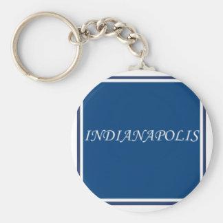 Indianapolis Keychain