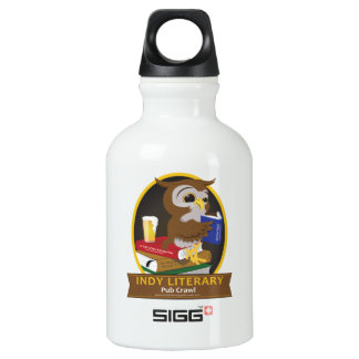 Indianapolis Literary Pub Crawl SIGG Traveller 0.3L Water Bottle