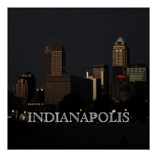 INDIANAPOLIS NIGHTS POSTER