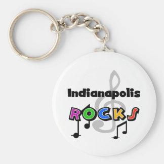 Indianapolis Rocks Key Ring