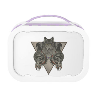Indians Skull Fantasy Style Lunch Box