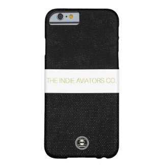 """Indie Aviator Co.""""Speckled"""" Iphone 6 Case Black"""
