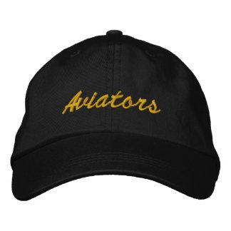 "Indie Aviators ""Aviators"" Yellow Script Cap"