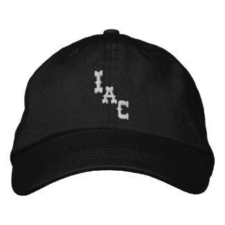 "Indie Aviators Co. ""IAC"" Black Cap"