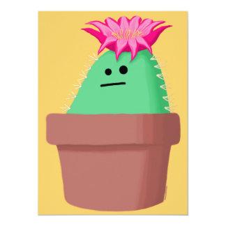 Indifferent Cactus 14 Cm X 19 Cm Invitation Card
