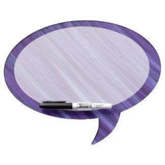 Indifferent Lavender Violet Lilac Purple Dry Erase Board