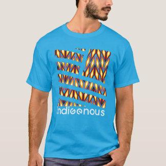 Indigenous Diamond Turquoise T-Shirt