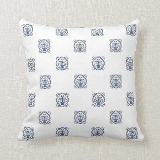 Indigo Blue China Pattern Pillow
