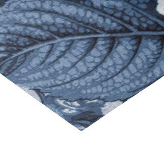Indigo Blue Vintage Floral Toile No.1 Tissue Paper