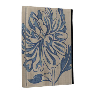 Indigo Mum iPad Folio Cases