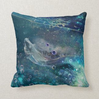 Indigo Mystique Underwater Mermaid Cushion