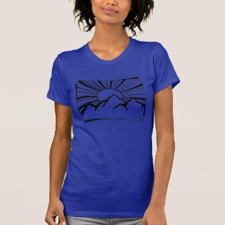 Indigo Rodney Ridge Mountain Logo Women's T-Shirt