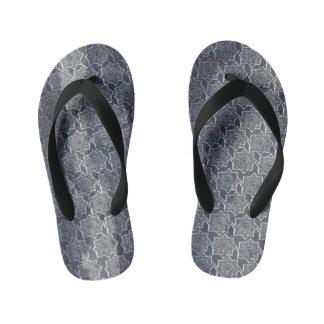 Indigo stars flip flops thongs