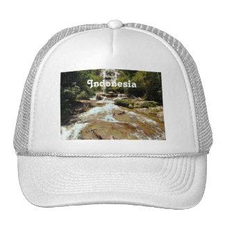 Indonesia Waterfall Mesh Hats