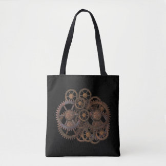 Industrial Rebellion Tote Bag