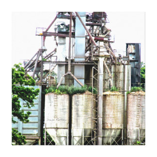 Industrial Stretched Canvas Prints