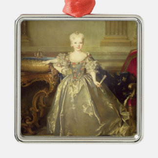 Infanta Maria Ana Victoria de Borbón, 1724 (oil on Christmas Ornament