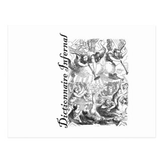 Infernal Dictionary - bunch of angels Postcard