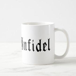 Infidel 1 basic white mug