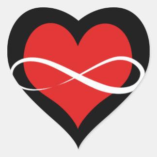 Infinite Heart Heart Sticker