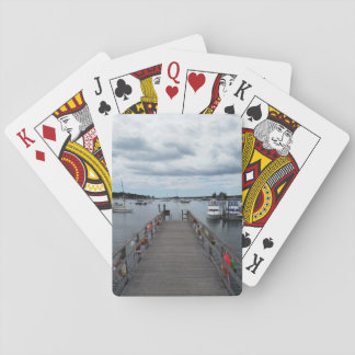 """Infinity"" Boothbay Harbor Classic Playing Cards"