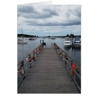 """Infinity"" Boothbay Harbor Greeting Card w/Envelop"