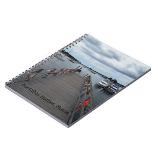 """Infinity"" Boothbay Harbor Maine Spiral Notebook"