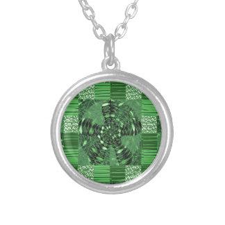INFINITY Infinite Symbol Green ART gifts love uniq Pendants