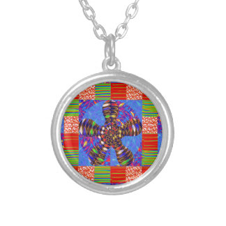 INFINITY Symbol Art Squares Rounds Waves GIFTS FUN Necklace
