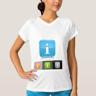 Info Icons Womens Active Tee