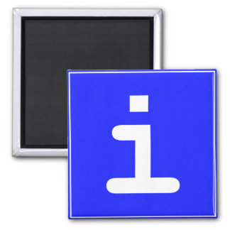 Infopoint icon magnet