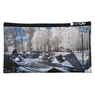 Infrared Landscape Cosmetic Bag