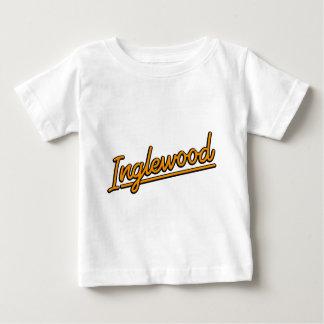 Inglewood in orange baby T-Shirt