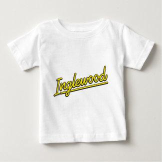 Inglewood in yellow baby T-Shirt
