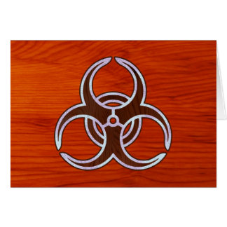 Ingrained Bio Hazard Card
