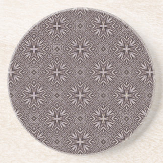 Ingrained Pattern Coaster
