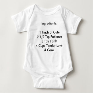 Ingredient Baby Baby Bodysuit